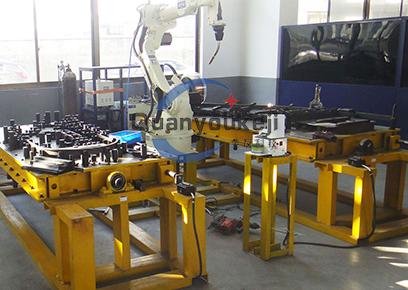 自动扶梯侧板 机器人焊接