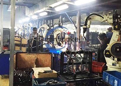 自行车前叉 机器人焊接