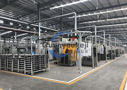 汽车部件 机器人焊接生产线