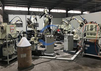 汽保工具 机器人焊接+搬运柔性生产线