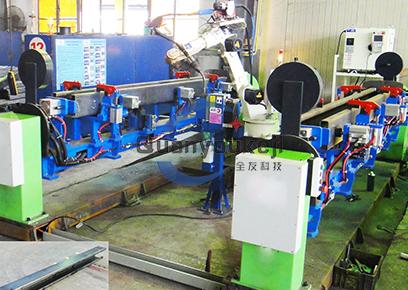 汽车举升机立柱 机器人焊接工作站